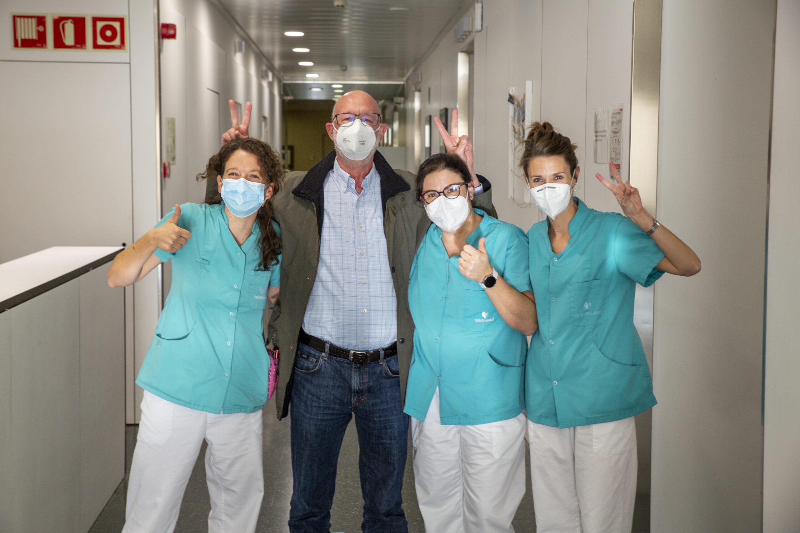 enfermeras con pacientes